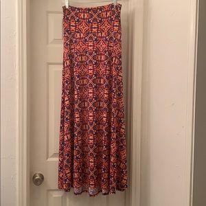 LuLaRoe Maxi Skirt gently worn
